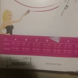SPANX Accessories - Spanx SHEERS super HIGH- WAISTED  very black C
